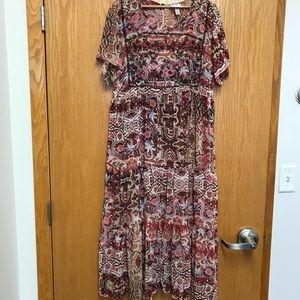 Knox Rose XXL sheer festival dress